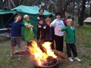 Camp fire winners